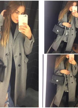 Пальто прямое / классическое пальто / плащ / овертайм пальто