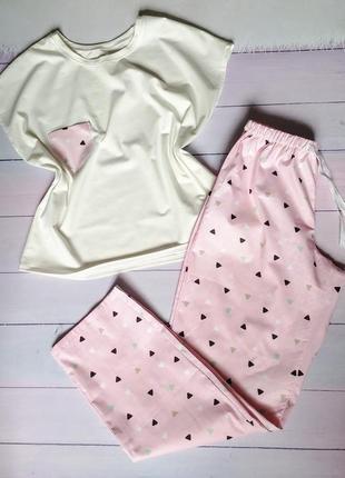 Пижама из хлопка, пижамка