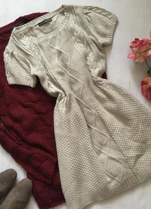 Стильное вязаное платье(s)