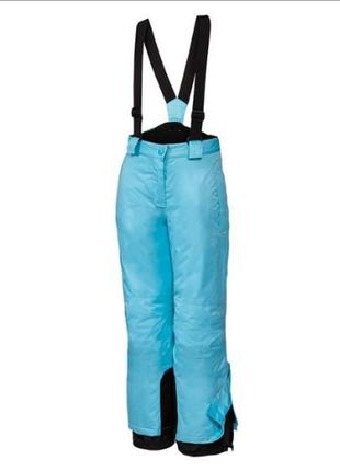 Лыжные термо штаны германия crivit мятные