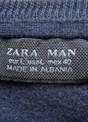 Теплый уютный свитер-пуловер zara
