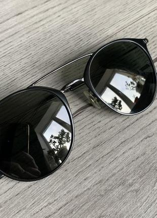 Очки ray ban черные оригинал