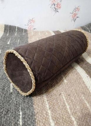 Интерьерная подушка-валик