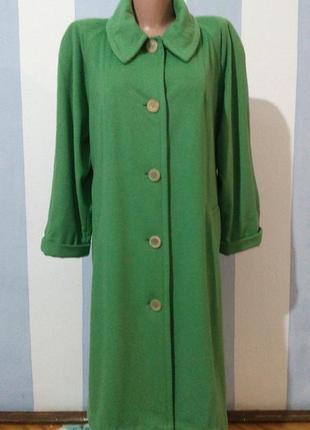 Кашемірове вінтажне дизайнерське пальто