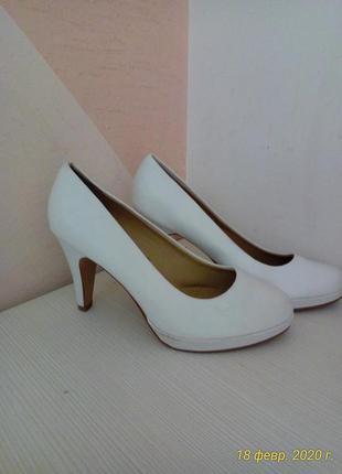 Немецкие белые туфли