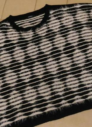 Мягкий, пушисиый, тёплый свитер травка, р.xxxl