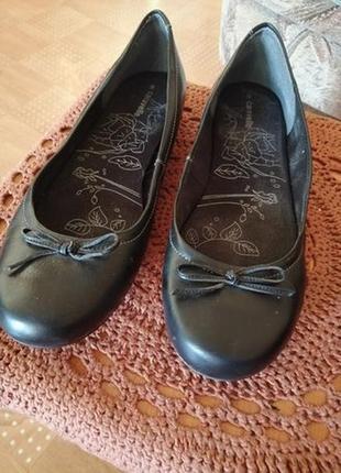 Продам туфли 41р. кожа новые