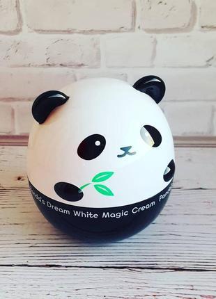 Крем отбеливающий tony moly pandas dream white magic cream 50мл корейская косметика