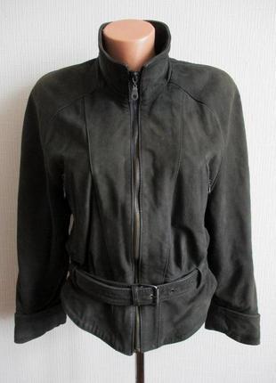 Куртка из натурального нубука prince's
