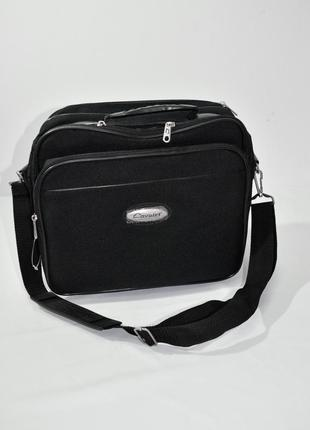 Мудская текстильная черная сумка cavolet. код 1143