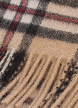 Шерстяной шарф в стиле burberry из шерсти ягнёнка ballantrae
