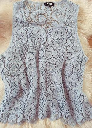 Блуза кружевная красивая