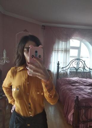 Стильная блуза итальянского бренда