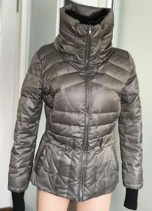Пуховик куртка пуховая зима пух  перо