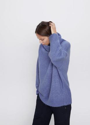 Новый свитер zara в стиле оверсайз2 фото