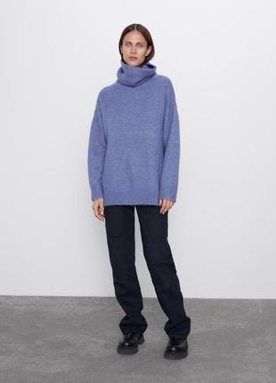 Новый свитер zara в стиле оверсайз