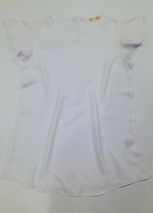 Белая блузка от gee jay girl (gloria jeans)