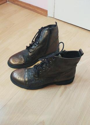 Ботинки с блёстками