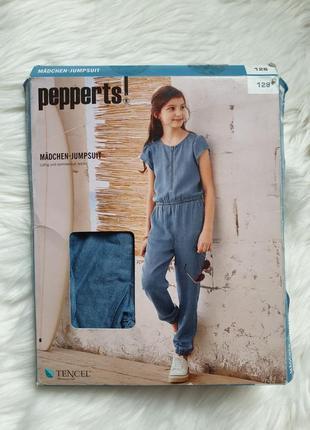 Pepperts  комбинезон летний под джинс 128 р на 7-8 лет
