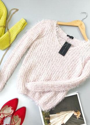 Мягкий свитер-травка new look