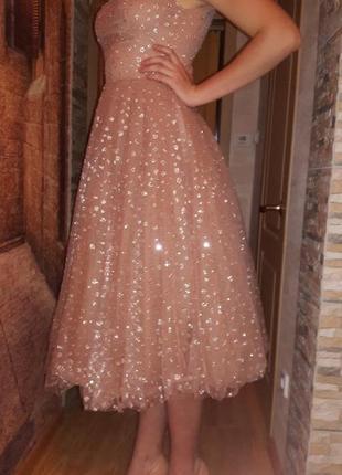 Красивое выпускное платье isabel garcia