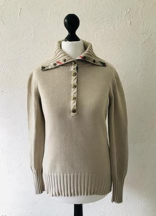 Стильная бежевая кофта, свитер burberry