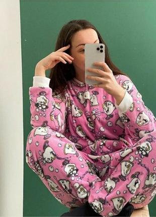Пижама кигуруми теплая disney