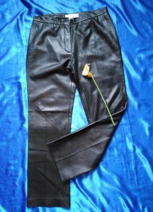 Max mara,люкс-бренд, натуральная кожа, брюки, оригинал