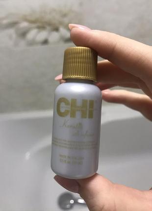 Рідкий шовк для волосся chi keratin