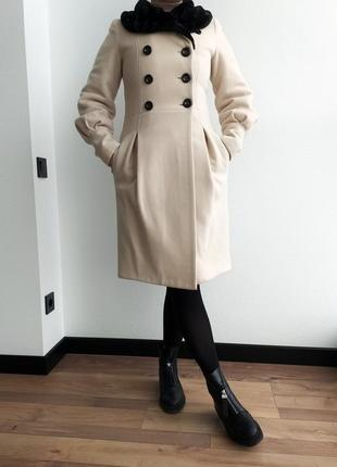 Идеальное тёплое пальто зима/осень