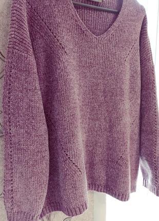 Велюровый свитер c&a canda premium