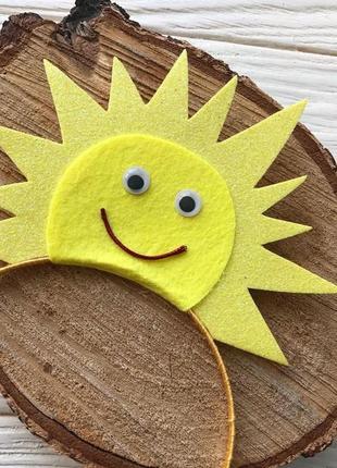 Ободок обруч солнце солнышко