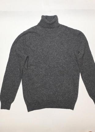 Женский свитер , гольф с длинным горлом united colors of benetton