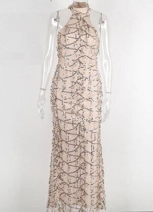 Платье с блёстками