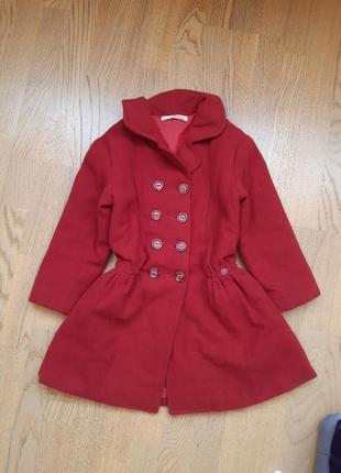 Пальто 6-7років