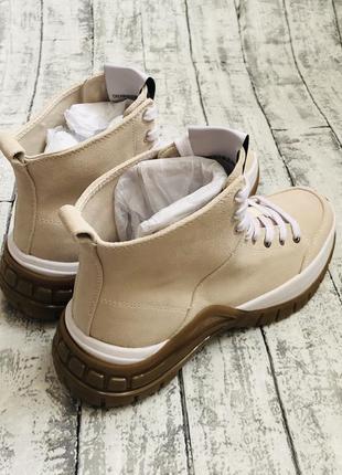 Ботинки calvin klein, замш, оригинал5 фото
