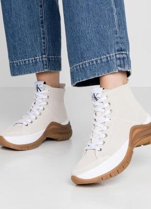 Ботинки calvin klein, замш, оригинал8 фото