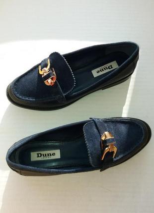 Туфли лоферы dune р.36