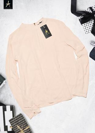 Нежная розовая рубашка блуза atmosphere