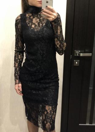 Платье - сетка