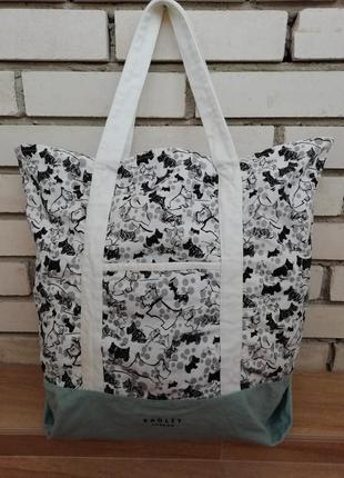 Фірмова англійська сумка шоппер radley!! оригінал!!!