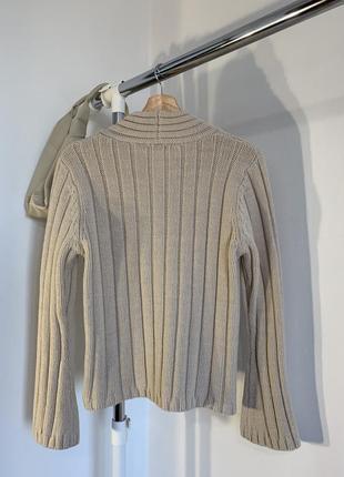 Шикарный бежевый свитер marks&spencer2 фото