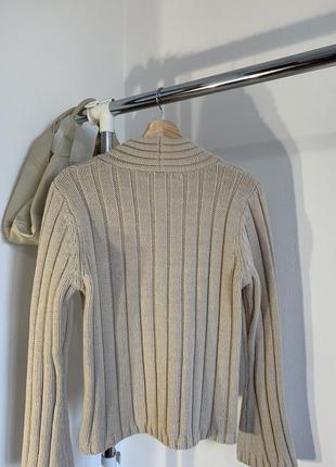 Шикарный бежевый свитер marks&spencer3 фото