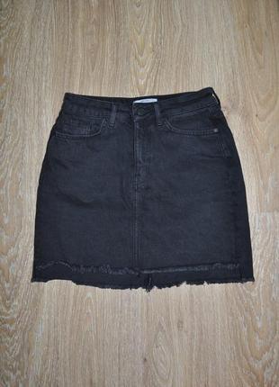 Стильная джинсовая юбка от new look