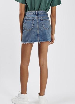 Юбка джинсовая moto