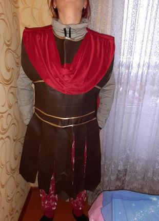 Карнавальный костюм гладиатор, римлянин взрослый.