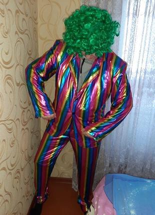 Карнавальный костюм клоун, фокусник взрослый.