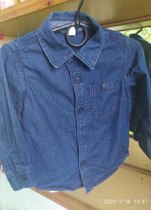 Рубашка под джинс, gap
