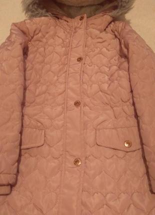Куртка для девочки еврозима cool club