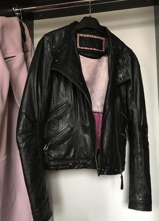 Курточка косуха куртка кожаная кожа кожанка